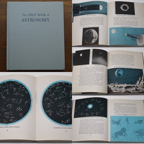 天文古書「The FIRST BOOK of ASTRONOMY」