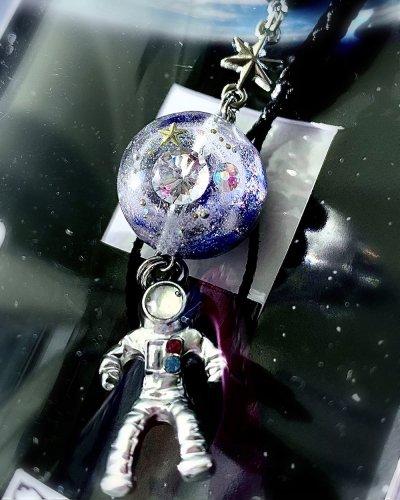 宇宙飛行士 オルゴナイトストラップ/Spiritualeason:スピリズ