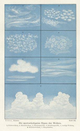 天文図版(ドイツ1902年)