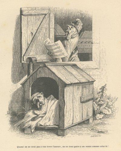 J・J・グランヴィル『動物たちの私生活・公生活情景』