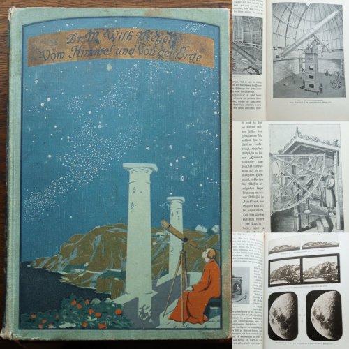 天文古書「天と地」(ドイツ 1908年)