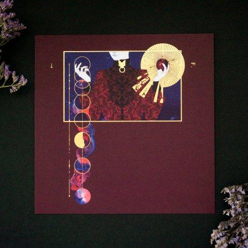 イラストカード「fall」/ruff