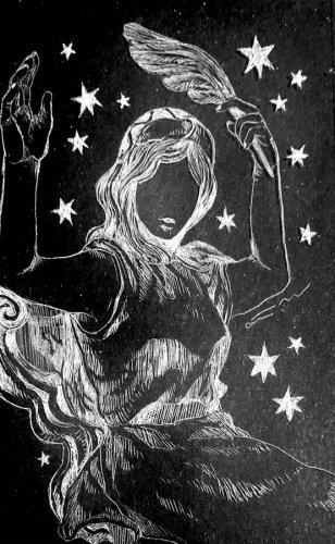 古星座をなぞる。「カシオペア座」/airi maeyama