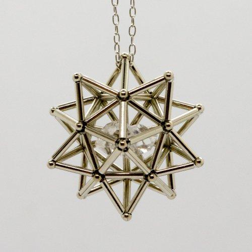 -恒星-(水晶)ネックレス・ピアス・ノンホールピアス/海宙屋-misoraya-