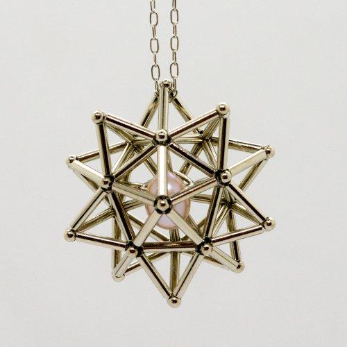 -恒星-(淡水真珠)ネックレス・ピアス・ノンホールピアス/海宙屋-misoraya-