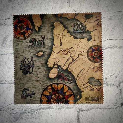 地図メガネふき/Mai Aimheart