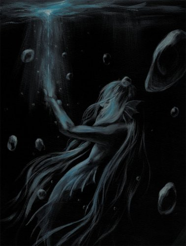 Black Mermaid [ポスター]/Mai Aimheart(4/18まで期間限定発売)