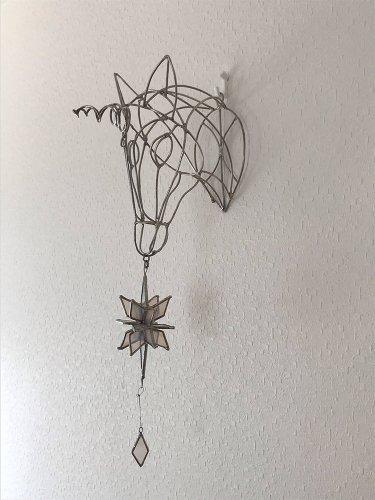 ユニコーンの壁掛け/micat glass