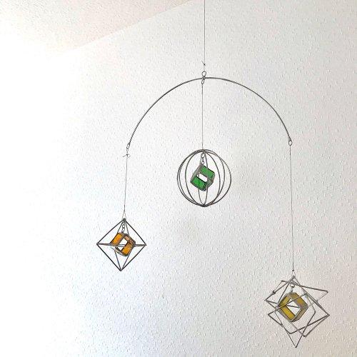星の惑星ワルツ モビール/micat glass