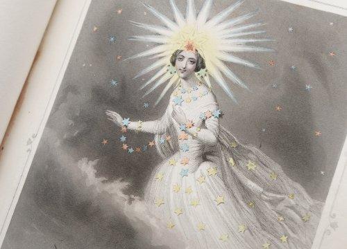 J・J・グランヴィル  「Les Étoiles(星々)」フランス1849年