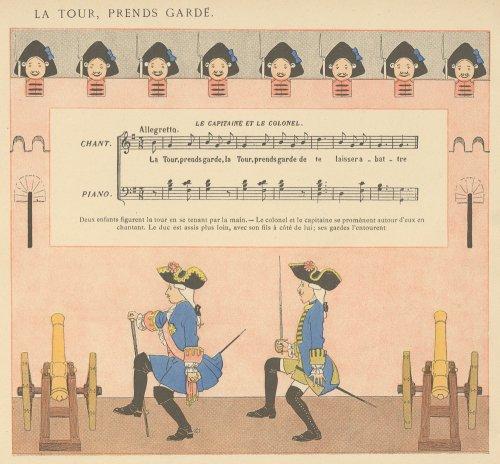 <img class='new_mark_img1' src='https://img.shop-pro.jp/img/new/icons14.gif' style='border:none;display:inline;margin:0px;padding:0px;width:auto;' />「子どものためのフランス童謡集」リトグラフ(フランス1920年頃)