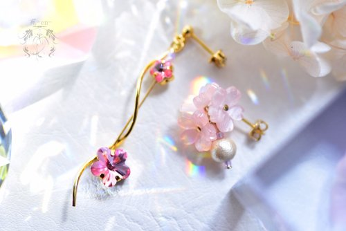 桜 耳飾り(ピアス)/苑-en-