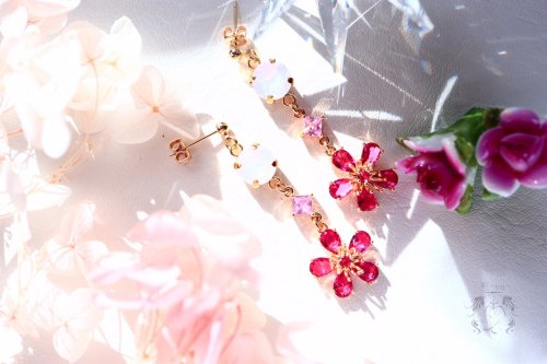 Bloom 耳飾り/苑-en-