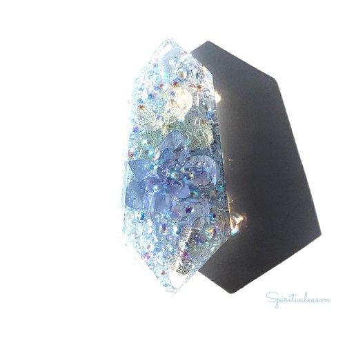 【フラワーオルゴナイトクリスタル/アナベル】/Spiritualeason:スピリズ