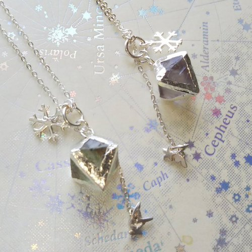 silver jewelry 星結晶ペンダント/天使匣<img class='new_mark_img2' src='https://img.shop-pro.jp/img/new/icons14.gif' style='border:none;display:inline;margin:0px;padding:0px;width:auto;' />