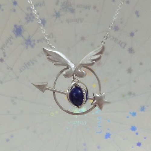 silverjewelry 小さな天球儀ペンダント/天使匣<img class='new_mark_img2' src='https://img.shop-pro.jp/img/new/icons14.gif' style='border:none;display:inline;margin:0px;padding:0px;width:auto;' />
