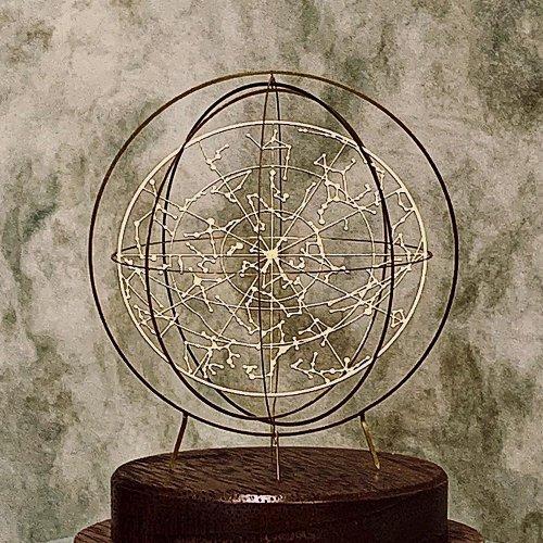 <img class='new_mark_img1' src='https://img.shop-pro.jp/img/new/icons57.gif' style='border:none;display:inline;margin:0px;padding:0px;width:auto;' />Celestial globe-ラウンド型 天球儀-(真鍮タイプ)/ものづくりの部屋