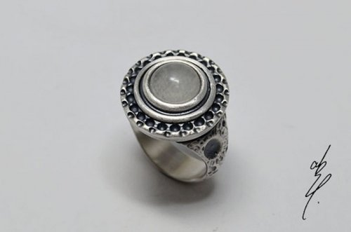 <img class='new_mark_img1' src='https://img.shop-pro.jp/img/new/icons14.gif' style='border:none;display:inline;margin:0px;padding:0px;width:auto;' />altar moon Ring 月光 (touch on your behalf) 17号/abst.(8月8日21時-8月22日21時販売)