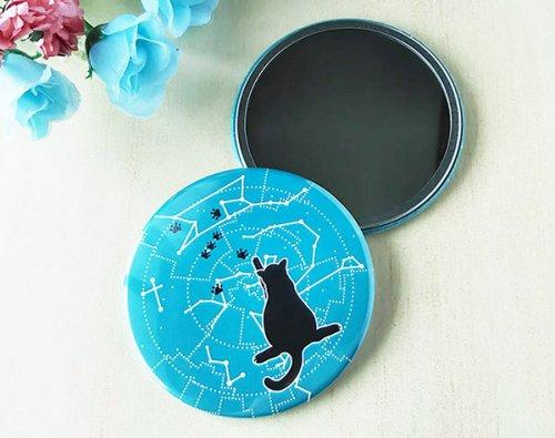 天文猫のコンパクトミラー/Memory-Ship(8月8日21時-8月22日21時販売)