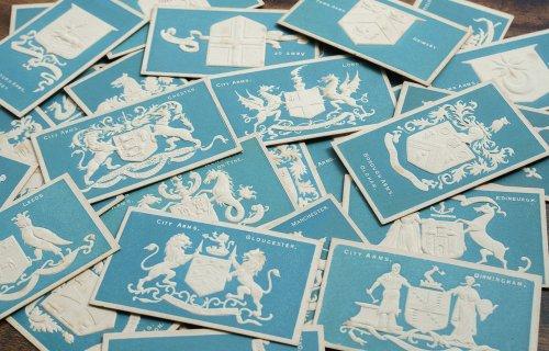 DEXTER'S 紋章シガレットカード 30枚フルセット/イギリス1900年