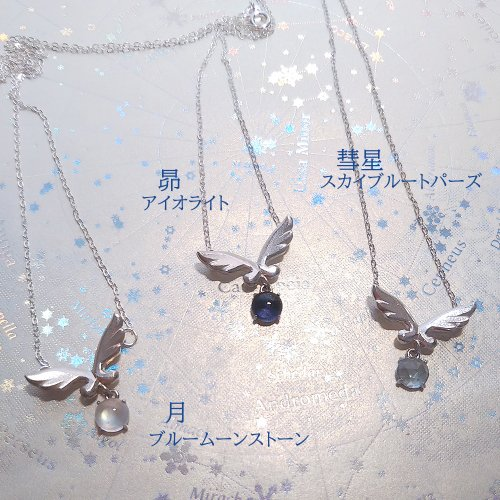 <img class='new_mark_img1' src='https://img.shop-pro.jp/img/new/icons14.gif' style='border:none;display:inline;margin:0px;padding:0px;width:auto;' />silverjewelry 願い星ペンダント/天使匣(10月6日21時より販売)