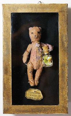 Funny bear ブローチ