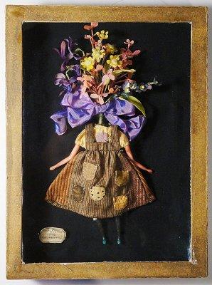 植物少女 ブローチ(2piece)