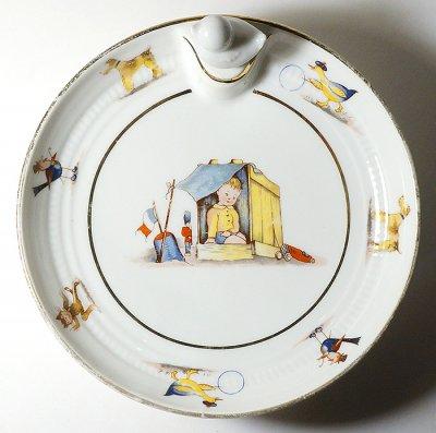 リモージュの保温皿(1940-50's)