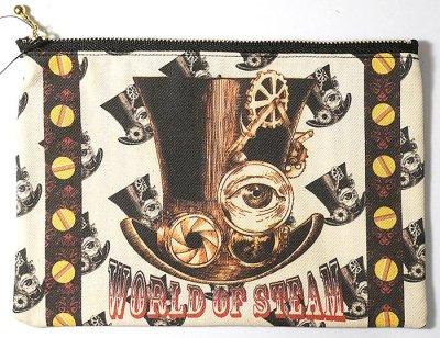 steampunk hat pouch