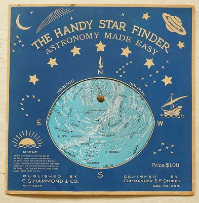 THE HANDY STAR FINDER(1940's/アメリカ製)