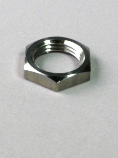 SUS304 六角切削ナット 薄型 M16-6 対辺 22.0 5.0 P1.5  50個
