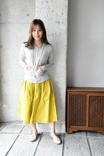 (即売)ヤンマ産業 リネンギャザースカート+10cm丈 GA-SK-10 タンブラー