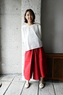 (即売)ヤンマ産業 リネンキュロットパンツ+5cm丈 CR-PT-5 ND天日