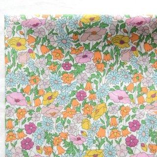 輸入リバティ ポピーアンドフォレスト オレンジ Liberty Tana Lawn Poppy and Forest