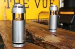 【カフェ】クライミング談義のカウンターに真空管Bluetoothステレオスピーカー