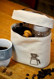 nalgene(ナルゲン) CANVAS POUCH II(キャンバスポーチII) ※コーヒーキャニスターケース ※メール便88円