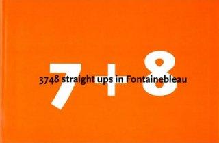 7+8 Fontainebleau Bouldering Guidebook(フォンテーヌブローボルダリングガイドブック) ※最新ガイド ※メール便88円★