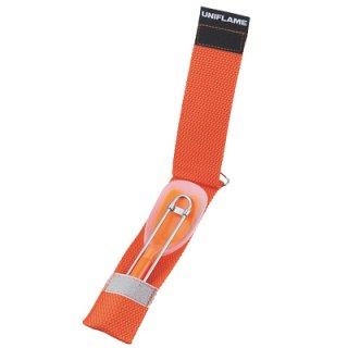 UNIFLAME(ユニフレーム) Silicon Spoon LONG(シリコンスプーンロング) ※深型ナベにも対応のロング