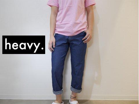 heavy.(ヘヴィー) janie jeans(ジェニージーンズ) ※2016年モデル