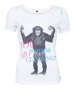Chillaz(チラス) T-Shirt Ötztal Monkey(エッツタールモンキー) Womens ※2016年新モデル ※メール便88円
