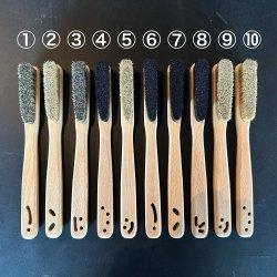 Faza Brushes(ファザブラシ) CONFESSION(コンフェッション) ※根付穴をデザインした無垢仕上げ ※一点もの ※メール便88円