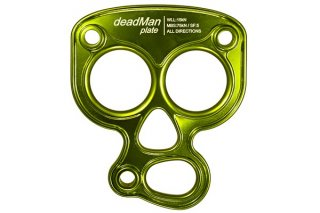 Slacktivity(スラックティビティ) deadMan Plate(デッドマンプレート) ※12mmシャックル用ホール×3 ※アンカー分散荷重 ※メール便88円