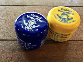 Polka Vaseline(ポルカワセリン) ピュア/ハーブ ※北欧クライマーワセリン ※選べる2種類 ※予約もOK
