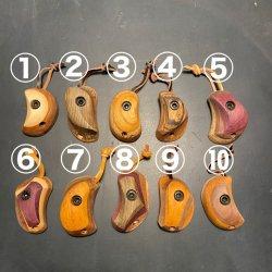 MONKEY-HOLD(モンキーホールド) HOLDER(ホルダー) ※木製ホールドキーホルダー 皮ストラップ ※一点もの ※メール便88円