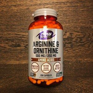 アルギニン+オルニチン 750mg 250粒 ※燃焼系では最強の組合せ ※コスパ最高