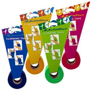 METOLIUS(メトリウス) Climbing Tape(クライミングテープ) 4色 ※超粘着性で外れにくい※フリクションを感じるクライミング専用テープ