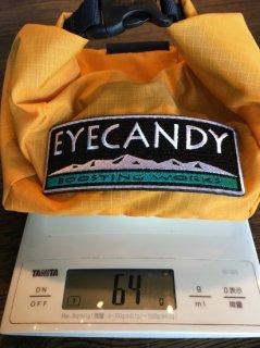 eyeCandy(アイキャンディ) チョークバッグ HANNA RIPSTOP ※超軽量64gコンパクト ※メール便88円