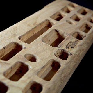 EXPLORE CLIMBING(エクスプロールクライミング) Finger beam XC Clasic(フィンガービームXCクラシック) ※指皮に優しい木製の超指トレボード