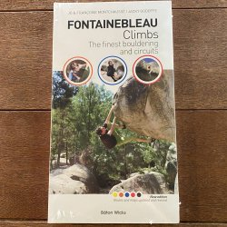 Fontainebleau Climbs (フォンテーヌブロークライムス) ※一番売れてるガイド本 ※メール便88円★