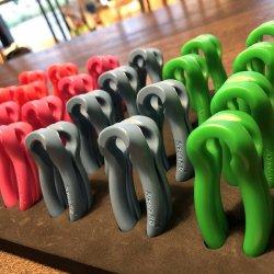 O-KEY(オーキー) 4色 ※8の字結びをほどきやすくするデバイス ※湿ったロープも超素早く結び替え ※メール便88円